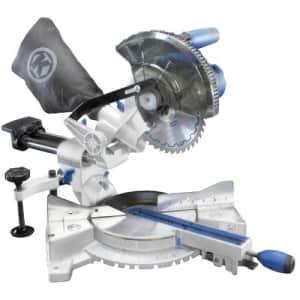 """Kobalt SM1850LW 7-1/4"""" bevel sliding laser compound miter saw for $200"""