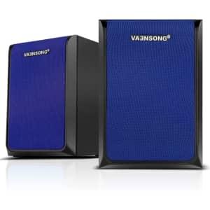 Vaensong 2-Ch. Surround Sound Computer Speakers for $27