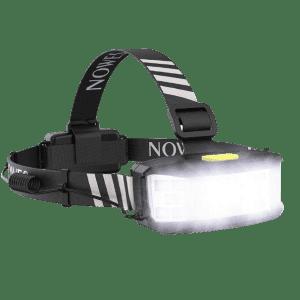 Broadbeam LED Headlamp for $9