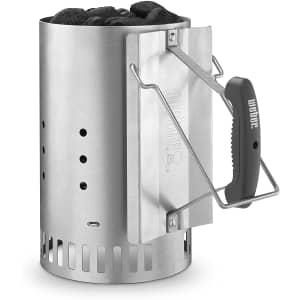 Weber Rapidfire Chimney Starter for $25