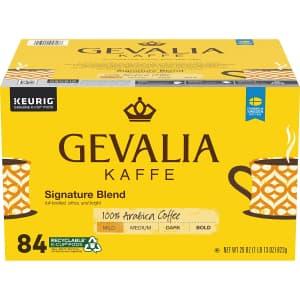 Gevalia Signature Blend Mild Roast 84-Count K-Cup Coffee Pods for $21 via Sub & Save