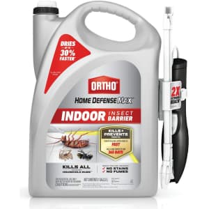 Ortho Home Defense Max 1-Gallon Indoor Insect Barrier for $19