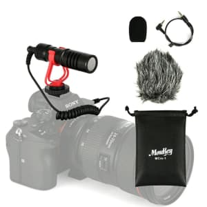 Moukey Camera Microphone kit for $11
