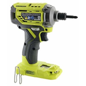 Ryobi P239 18V Lithium Ion Brushless Cordless 2,000 Inch Pound Impact Driver w/ Magnetic Bit Tray for $77