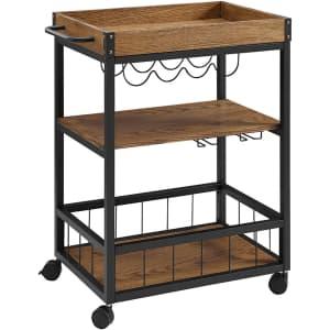 Linon Austin Kitchen Cart for $92