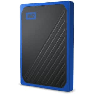 WD 1TB My Passport Go USB 3.0 Portable SSD for $140