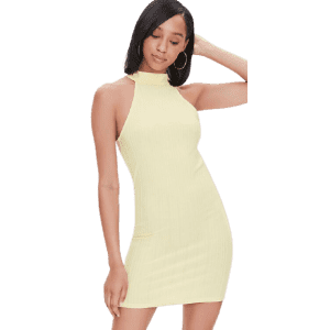 Forever 21 Ribbed Bodycon Mini Dress for $10
