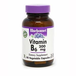 BlueBonnet Vitamin B-6 200 mg Vegetable Capsules, 90 Count (743715004320) for $12