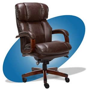 La-Z-Boy Fairmont Big and Tall Executive Office Chair with Memory Foam Cushions, High-Back with for $661