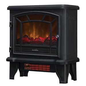 Duraflame Electric DFI-550-36 Infrared Quartz Fireplace Stove Heater, Black for $113