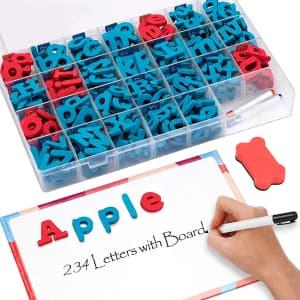 Joynote 234-Piece Magnetic Alphabet Kit for $12