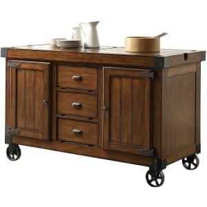 Acme Furniture Kabili Kitchen Cart w/ Storage for $578