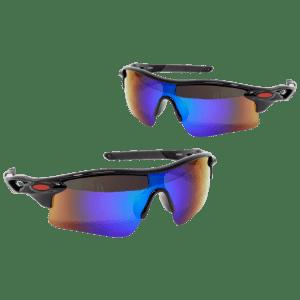 ZeroDark Sport Tactical Polarized Sunglasses 2-Pack for $12
