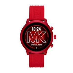 Michael Kors Access MKGO Touchscreen Aluminum and Silicone Smartwatch, Red-MKT5073 for $403