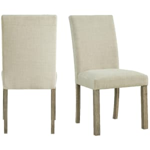 Picket House Furnishings Turner Upholstered Side Chair 2-Pack for $117
