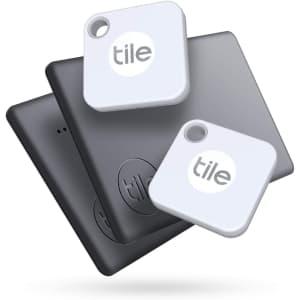 Tile Mate + Slim (2020) 4-Pack for $75