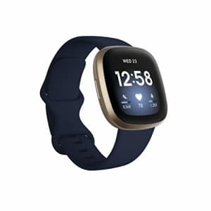 Fitbit Versa 3 Health & Fitness Smartwatch with GPS, 24/7 Heart Rate, Alexa Built-in, 6+ Days for $222