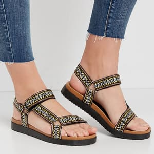 Maurices Women's Polly Woven Strap Utility Sandals for $10