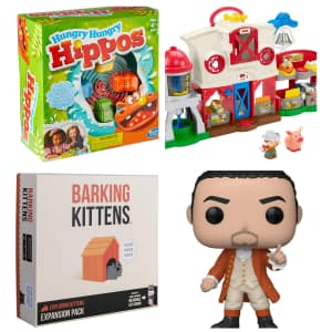 Toys at Amazon: $10 off $50 or more