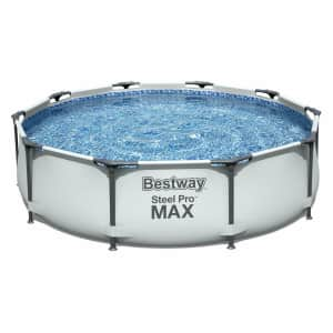 Bestway 10-Ft. Above Ground Swimming Pool Set for $119