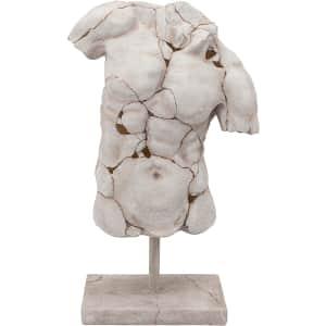 Sagebrook Home Cracked Torso Sculpture for $184