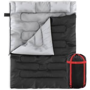 Zone Tech 2-in-1 Travel Camp Sleeping Bag for $32