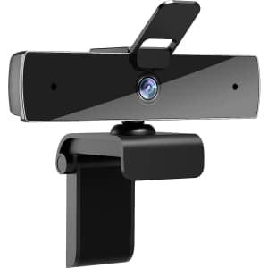 Qtniue 1080p Webcam with Dual Mic for $20