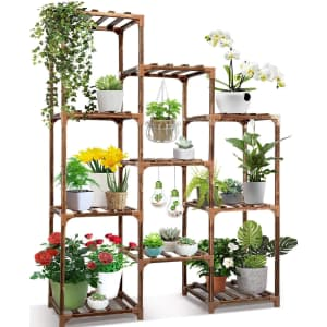 Cfmour 10-Tier Plant Stand for $46