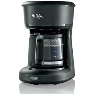 Mr. Coffee 5-Cup Mini Brew Switch Coffee Maker for $19