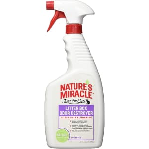 Nature's Miracle Just for Cats Litter Box Odor Destroyer for $2.02 via Sub & Save