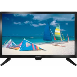 """Insignia 22"""" 1080p LED HDTV for $60 in cart"""