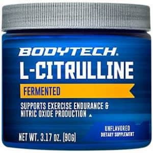 BodyTech Fermented LCitrulline 3000MG Supports Exercise Endurance Nitric Oxide Production (3.17 for $12