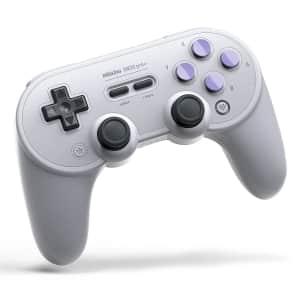 8Bitdo Sn30 Pro+ Bluetooth Controller for $43
