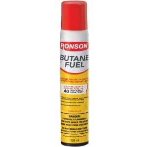 Ronson 135mL Multi-Fill Ultra Butane Fuel for $2