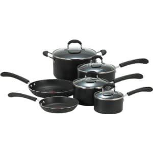 T-fal E938SA Professional Total Nonstick Oven Safe Thermo-Spot Heat Indicator 10-Piece Dishwasher for $150