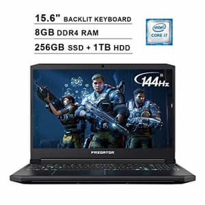 Acer 2020 Predator Helios 300 15.6 Inch FHD Gaming Laptop (9th Gen Intel 6-Core i7-9750H up to 4.5 for $279