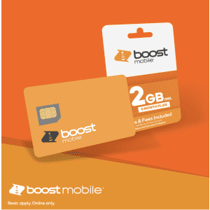 Get 2GB 5G/4G data per month at Boost Mobile: for only $9 per month