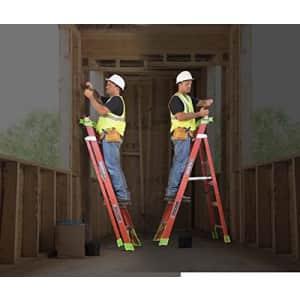 Louisville Ladder 10-Foot Fiberglass Cross-Step Step/Shelf Ladder, 300-Pound Capacity, Type IA, for $389