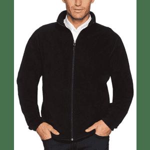 Amazon Essentials Men's Polar Fleece Jacket from $21