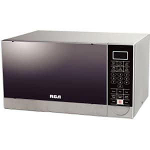 RCA 1.1 Cubic Feet Stainless Steel Microwave Oven for $156