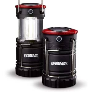 Eveready 360 LED Camping Lantern 2-Pack for $20