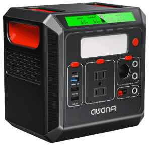 Awanfi 300Wh Portable Power Station for $150