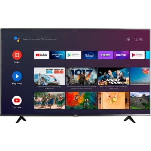 """TCL 55"""" 4K UHD LED Smart Android TV for $617"""