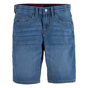 Levi's Boys' 511 Slim Fit Performance Shorts, Spit Fire, 4 for $14