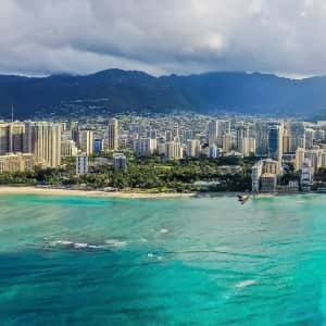 4-Night Partial Oceanview Suite Stay in Waikiki through Mar. '22 at Travelzoo: for $999 for 2