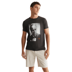 Lucky Brand Men's Godfather Portrait Tee for $10