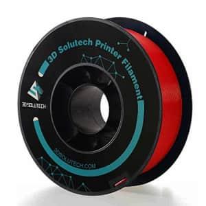 3D Solutech - PREPLARED Real Red 3D Printer Premium PLA Filament 1.75MM Filament, 2.2 LBS (1.0KG) for $21