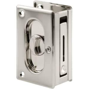 Prime-Line N Pocket Door Privacy Lock w/ Pull for $19