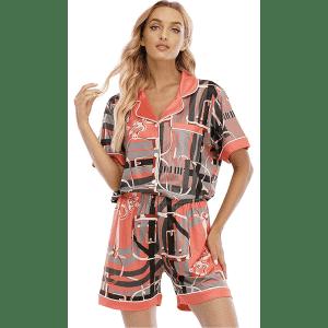 Shusimeng Women's Pajama Set for $14