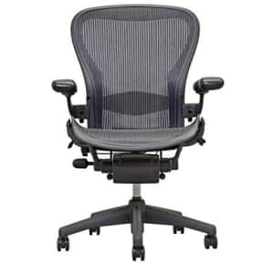 Herman Miller Aeron Size B Office Chair w/ Adjustable Lumbar Support for $549